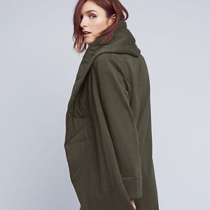 NWT Anthropologie Quilted Cozy Coat